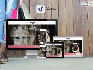 Website Development :- Vazee (.Net)