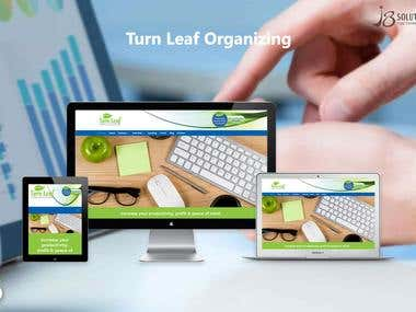 Open Source :- Turn Leaf Organizing (WordPress)