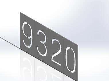 Stencil Numeric Model