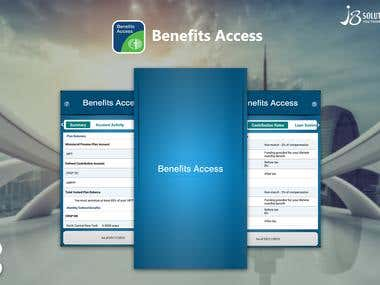 Android :- Benefits Access