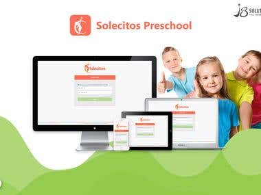 Website Development :- Solecitos Preschool (.NET)