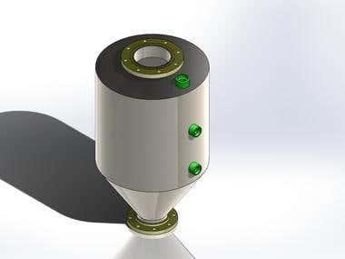 Bin Sub-Assembly 3D Model ANSI tandard