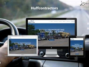 PHP Open Source :- Huff Contractors Inc