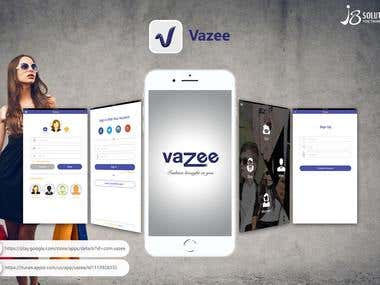 Android & iOS :- Vazee