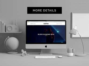 Site for designer clothes