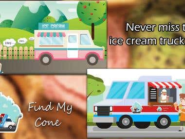 USER app-Uber like app for ice cream delivery in USA