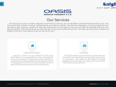 CORPORATE WEBSITE