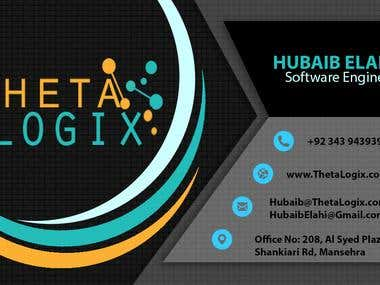 Visiting Card ThetaLogix