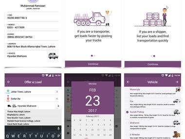 Mobile UI Desings