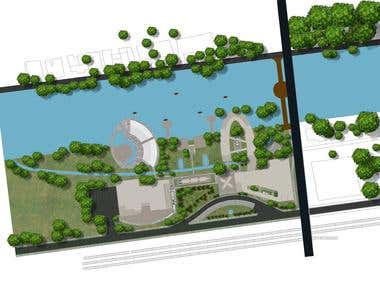 I will render your site plan