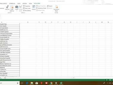 Excel Macro to find Website of companies Automatically