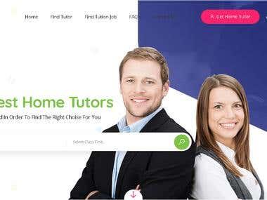 Student and Teacher job providing portal