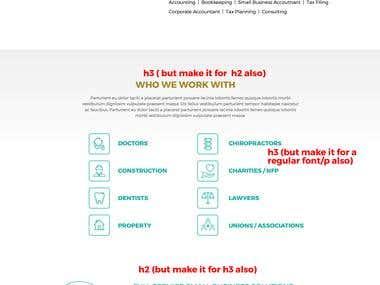 Wordpress (PSD to HTML)