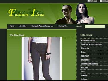 Fashion site