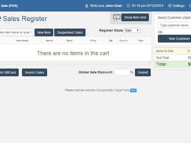Php Point of Sale (Codeigniter)