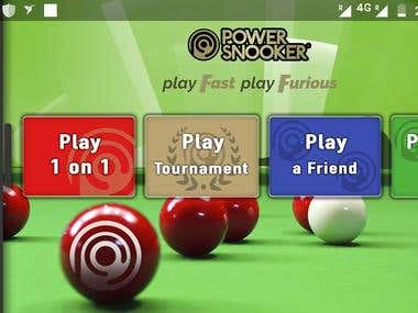 Multiplayer Snooker Game App