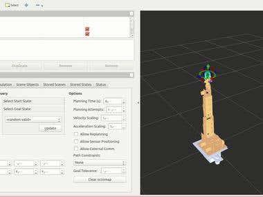 Robotic arm - Motion planning