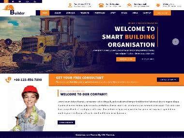 Builder Construction Estate WordPress Theme