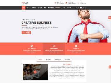 Tromas Business WordPress Theme
