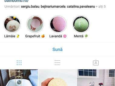 Instagram: @bathbomb.ro