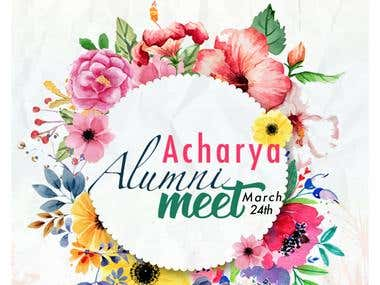 Alumni Meet - Flyer