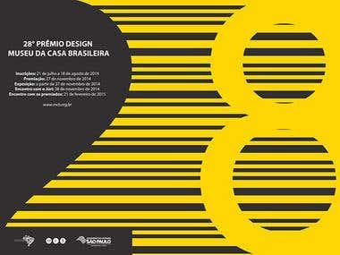 Concurso Cartaz - 28º Concurso Museu da Casa Brasileira