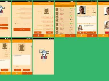 UI design for Translate app