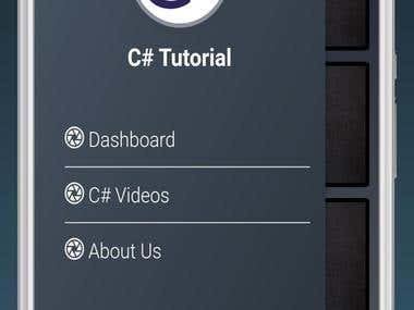 C# Mobile app using Ionic and Angular Js