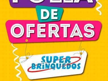 Design de banners - Super Brinquedos