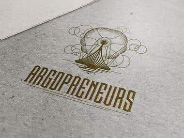 Argoentrepreneurs - Steam Punk logo design