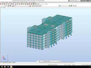 Complex Steel Building Design