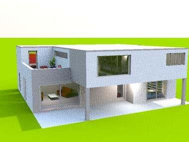 Modern Home Map & Design