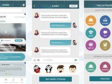 Transport Social App