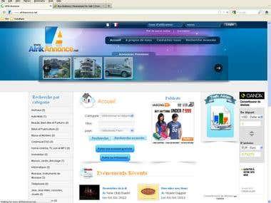 Afrikannonce - Classified website