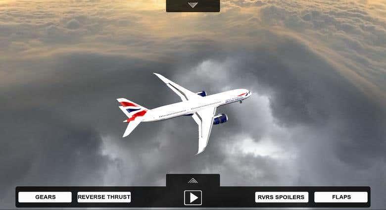 Plane Web3D, WebGL | Freelancer