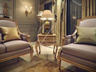 Luxury Kerala House Traditional Interior Design