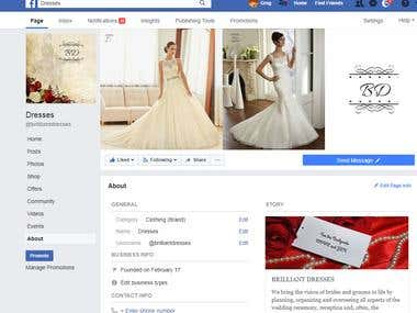 Facebook Page Creation and Management