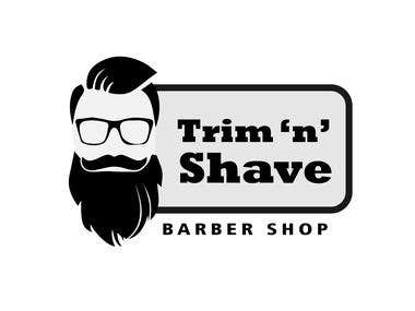 Barbar shop logo.