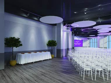 Event Hall Rendering