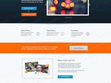 Online Ecard Site