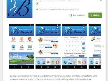 BridleWood - Health Insurance App (Ionic Framework)