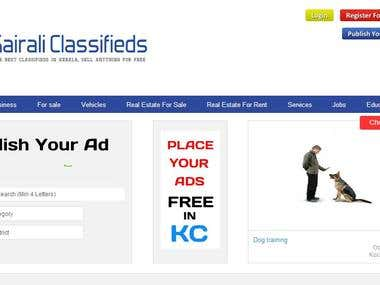 Kairali Classifieds INDIA Site