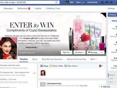 Facebook marketing & management