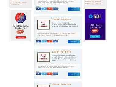 paperadda online exam/quiz portal