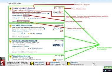 Web Scraping - Windows Desktop App -.NET - Excel