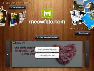 MeowFoto :: Image Editor, Collage Generator - Website