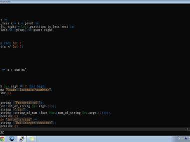 Perl, PHP, BASH, CSS, Javascript, HTML