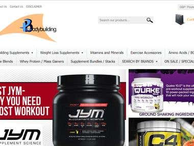 Pro Body Building Supplements