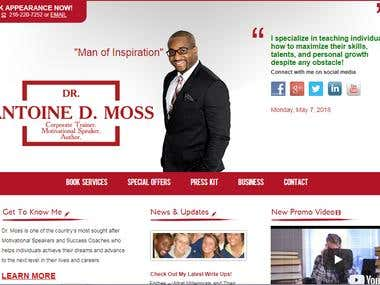 Antoine D Moss - American - African Motivational Speaker