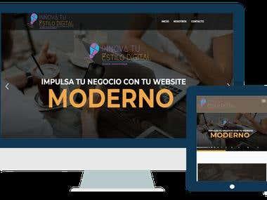 Web Innova tu Estilo - Ecuador